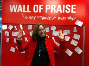 employee recognition- wall of fame