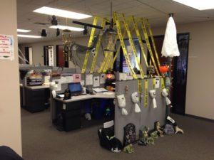 office halloween decoration