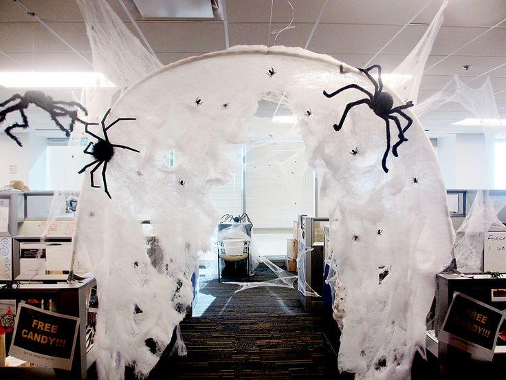 ideas for work Halloween decoration
