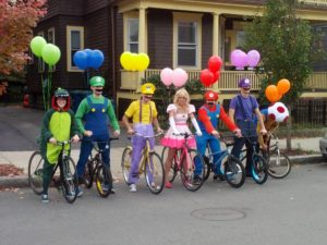 Super Mario work Halloween costumes