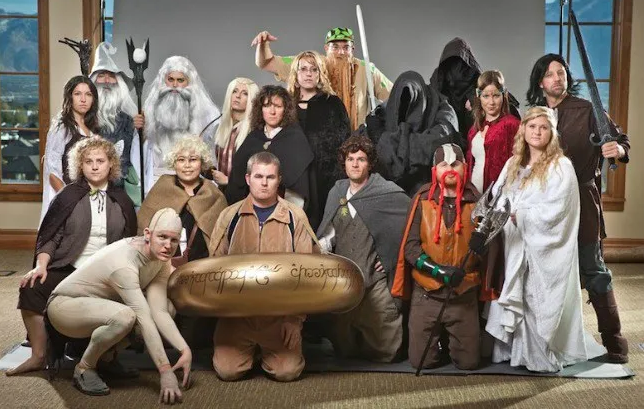 Lord of the Rings office Halloween costume