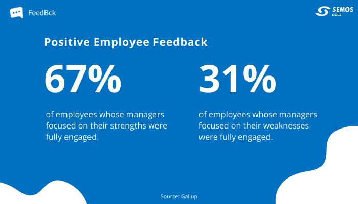 positive employee feedback stats