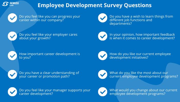 employee development survey questions