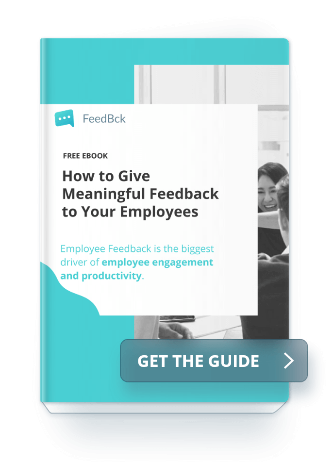 Ebook How to give meaningful feedback to your employees