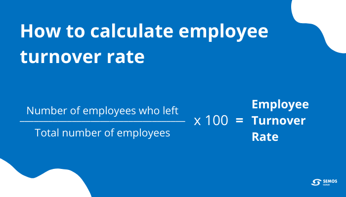 employee turnover formula