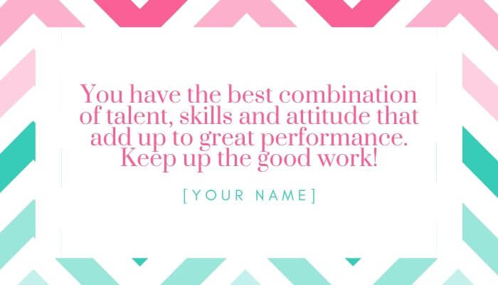 great performance quote