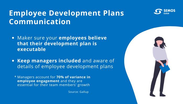 communicating employee development plans